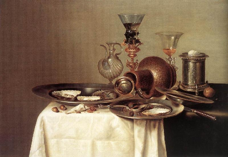 HEDA, Willem Claesz. Still-life  dy67 oil painting image